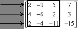 Wybór wierszy macierzy w metodzie Kroneckera-Capellego