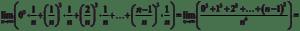 Suma całkowa dla funkcji x^3