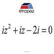 Równanie zespolone - miniatura