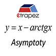 Asymptoty z arctgx