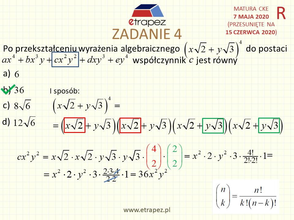 matura matematyka rozszerzona maj 2011